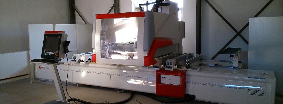 Gyetvai Pack - 5 tengelyes faipari CNC megmunkáló centrum beszerzés Bükkszenterzsébeten