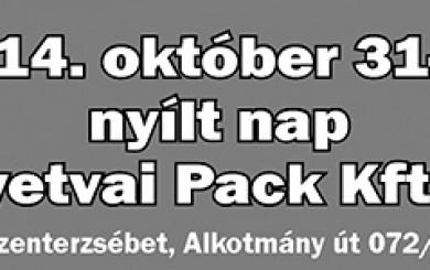 Nílt nap a Gyetvai Pack Kft.-nél!